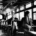 E.D. Nixon and Rosa Parks lead the Montgomery Bus